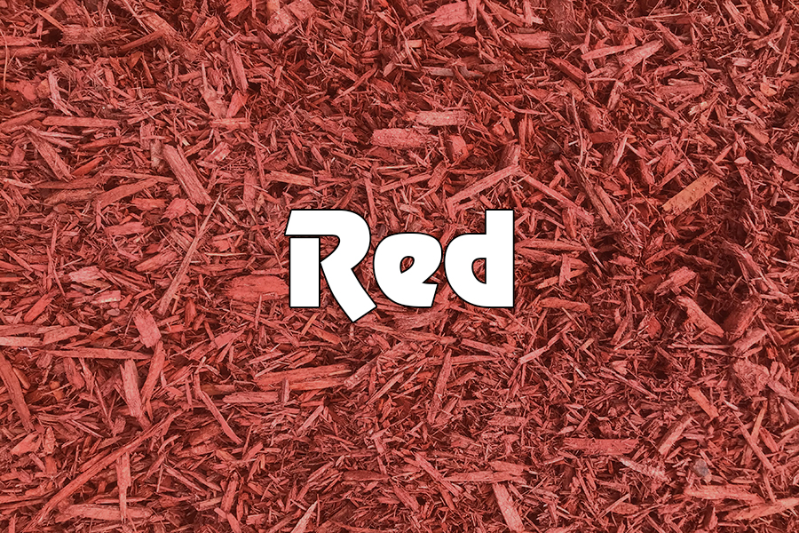 Kachur Tree Service - Red Mulch